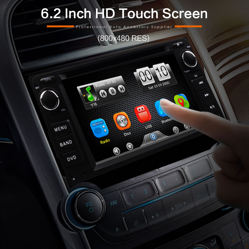 Daş DVD-də Universal 2Din Avtomobil Toyota RAV4 COROLLA EX CAMRY - Avtomobil elektronikası - Fotoqrafiya 4