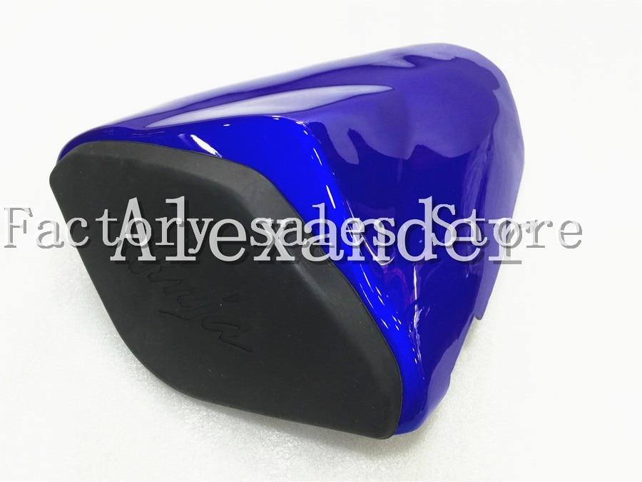 For Kawasaki Ninja ZX6R 636 2009 2011 2012 213 2014 2015 2016 Blue Bike Rear Seat Cover Cowl Solo Seat Cowl Rear ZX-6R 600