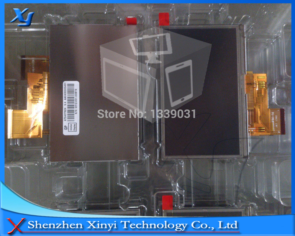 NEW Original 4.3 inch for Innolux AT043TN24 V4 LCD panel display + touch screen for GPS PDA 100% tested Free shipping