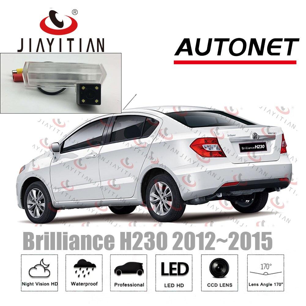 JiaYiTian камера заднего вида для Brilliance H230 2012 2013 2014 2015 седан CCD камера ночного видения номерного знака резервная камера title=