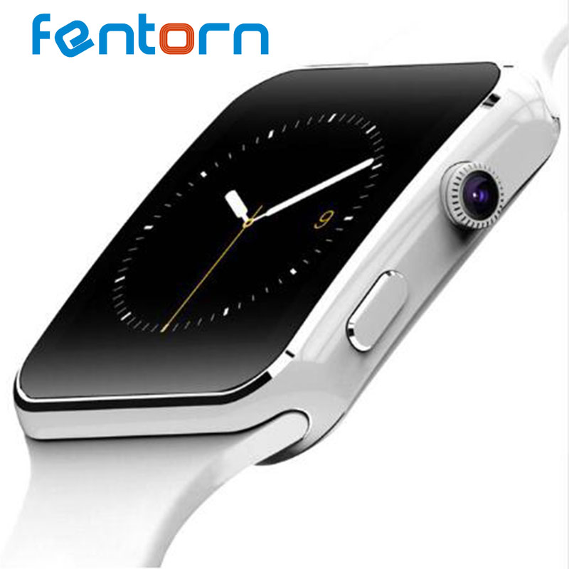 Fentorn X6 Camera Smart Watch Message Call Bluetooth Wrist Watch For Android Samsung Huawei Sony Sim