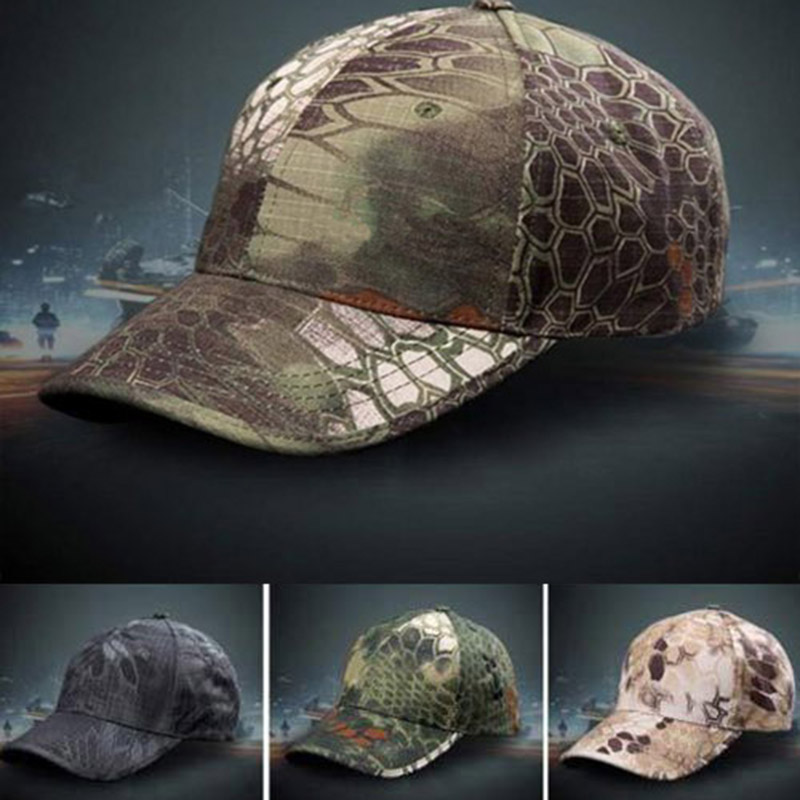 Hunting Cap Hat Camouflage-Hat Adult-Cap Army Military Tactical Outdoor Men for Simplicity