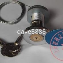 Piezas de puerta de garaje cerraduras de obturador accesorios puertas garaje cerradura de emergencia núcleo de tracción cerradura de acero