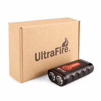 Ultrafire 2018 new bicycle light XM LT6 USB charging one mountain bike glare flashlight riding flash light luz torch lantern