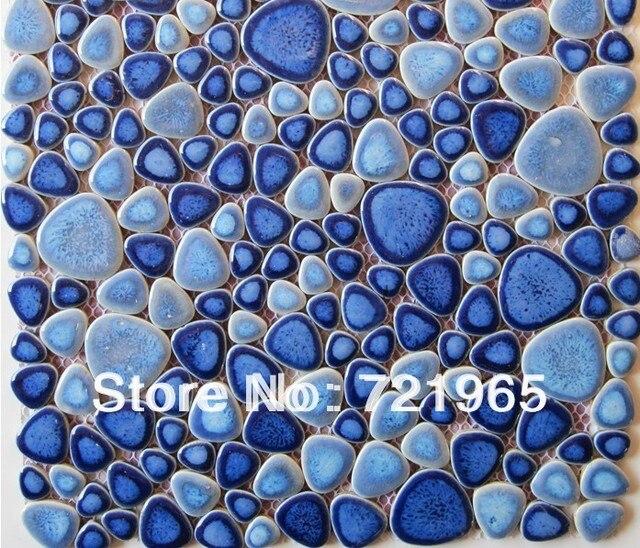 aliexpress : glasiertem porzellan fliesen stein kieselmosaik, Hause ideen