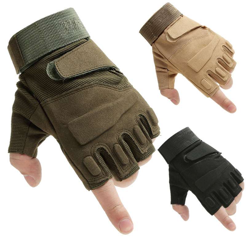 Tactical Gloves Army Soldier Combat Paintball Gloves Military Outdoor Gear Sport Slip-re ...