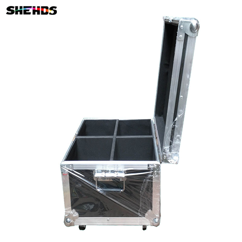 Flight Case with 2/4 pieces LED Wash 7x18W RGBWA+UV  Moving Head Lighting for Disco KTV Party Fast Shipping,SHEHDS Stage Light спортинвентарь nike чехол для iphone 6 на руку nike vapor flash arm band 2 0 n rn 50 078 os