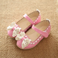 Children cute small size spring and autumn slip on shoes kid casual girl soft bottom shoes quality pu leather shoes for child