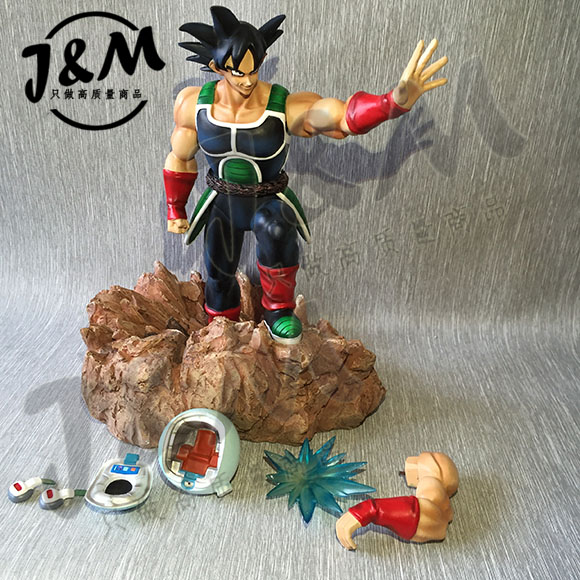 MODEL FANS JM Dragon Ball Z 28cm son goku's father Burdock gk resin action figure toy for Collection model fans in stock dragon ball z 35cm super saiyangoku and time house gk resin statue figure for collection