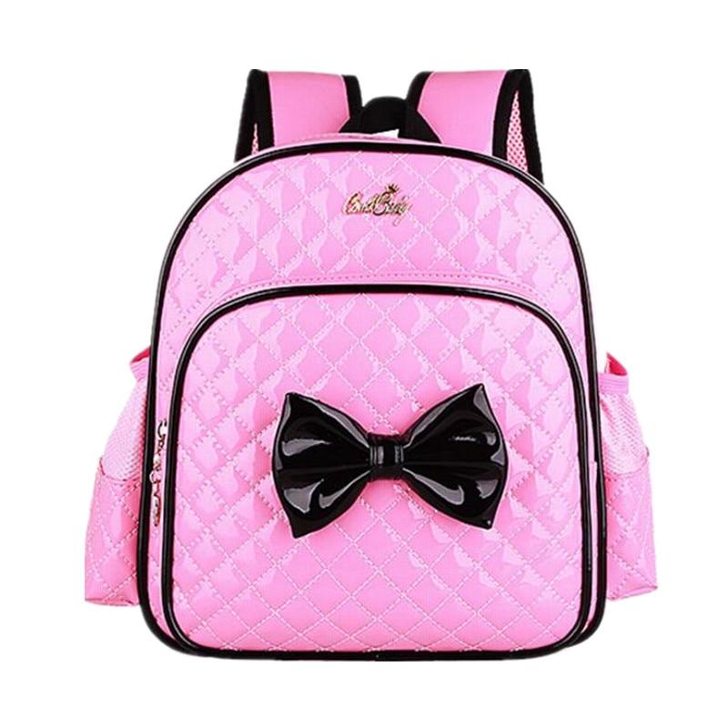 ФОТО Cute Girls Backpacks Kids Satchel Children School Bags For Girls Waterproof Backpack Child School Bag Mochila Escolar