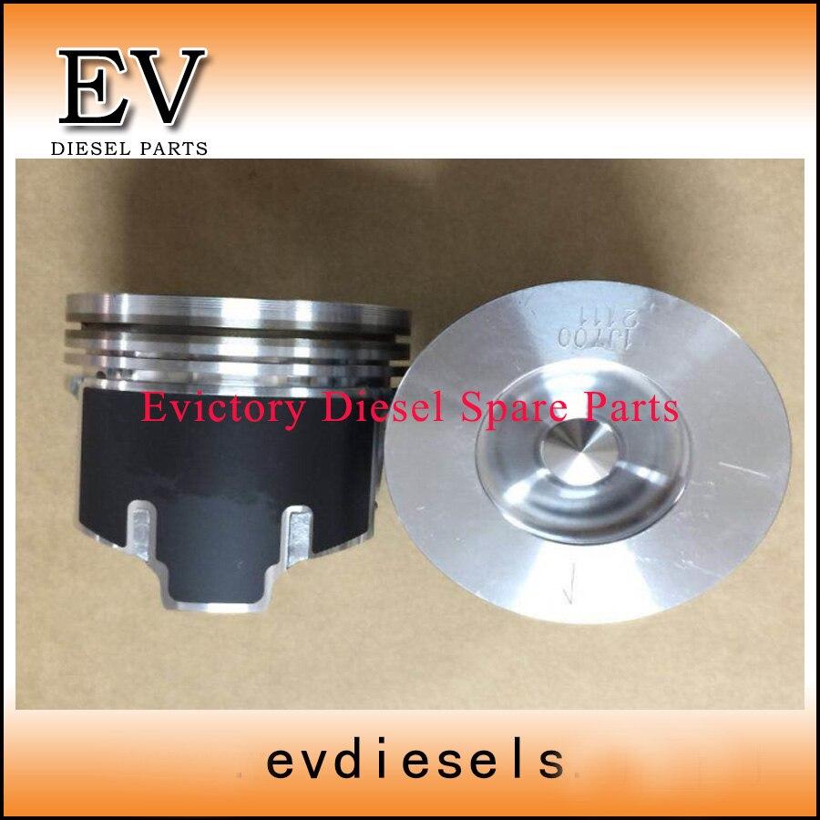 V2607 Motor reconstruir kit Para Bobcat V2607 V2607T anéis de pistão do cilindro kit junta completo virabrequim & rolamento biela kit válvula