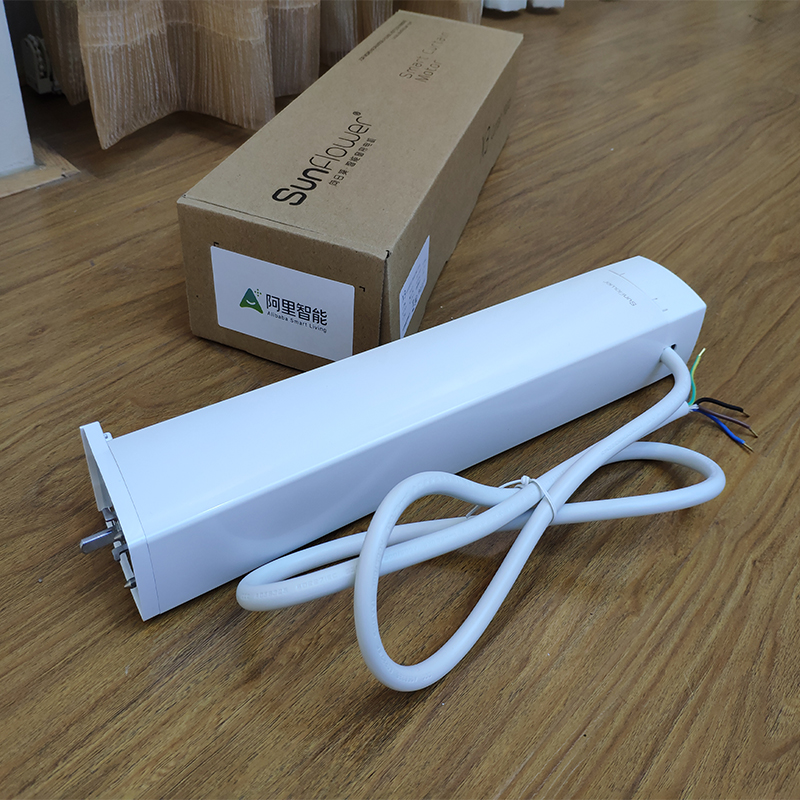 DOOYAwifi intelligent curtain track motor controlled by mobile APP Ali Smart,100 240V in Automatic Curtain Control System from Home Improvement