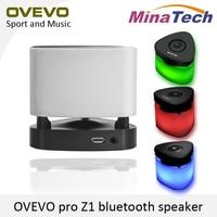 Original OVEVO Fantasia Pro Z1 Bluetooth 4.0 Mini Speaker Luz LED Inteligente Inteligente Luz da Noite LEVOU Lâmpada Toque no Botão Do Painel