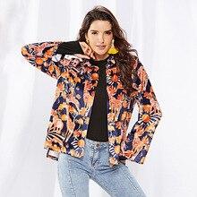 Fashion printed velvet, long-sleeved animal print turtleneck jacket 2019 fall and winter womens warm velvet