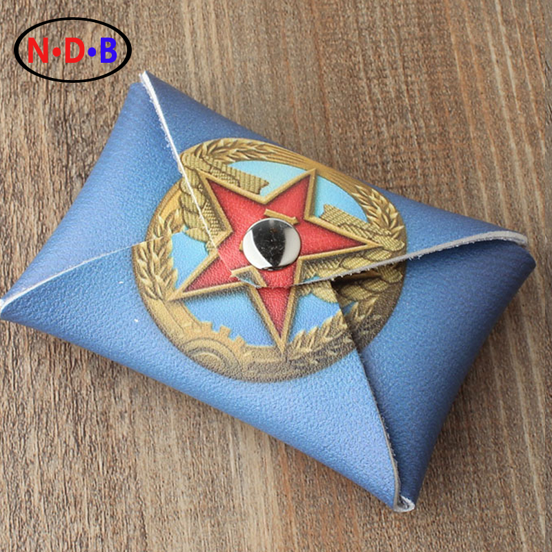 (Coin Purses)2016 new Russian zero wallet old stamp thin Coin Bag Purse Party emblem LQB1062
