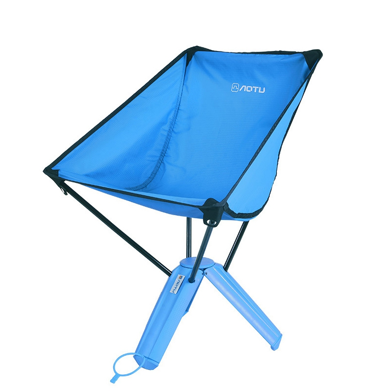 ФОТО New Arrival Outdoor Supplies Fishing Chair Lightweight Triangular Chair Camping Fishing Stool for Picnic Beach Chair Blue Green