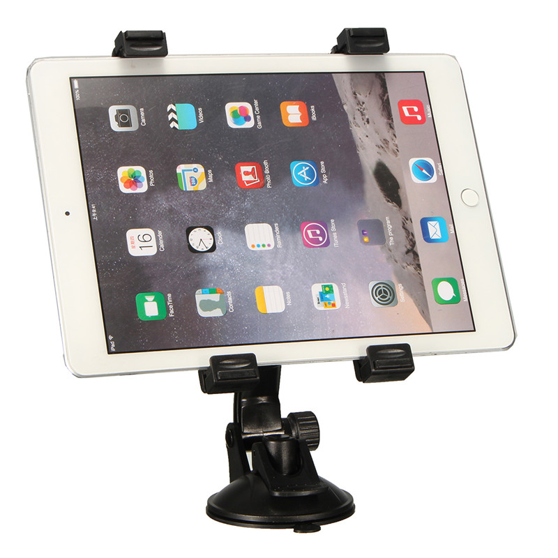 7-10.1 inch Universal Rotating Car Windshield Suction Tablet Mobile Phone Mount Holder Stand For iPad For Samsung Tablets GPS ...