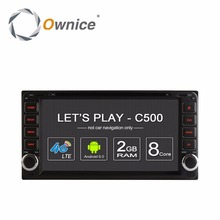 Ownice Android car dvd Multimedia Video player for Toyota Hilux VIOS Old Camry Prado RAV4 Prado 2003-2008 Corolla Land Cruiser