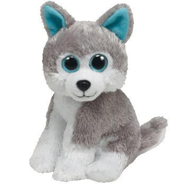 Pyoopeo Ty Beanie Babies 6 15cm Sledder The Husky Plush Regular