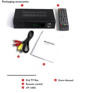 Image 5 - Vmade HD Digital Terrestrial TV Receiver DVB T2 8939 Built In Network H.264 MPEG 2/4 TV Set Top Box Support Megogo Youtube