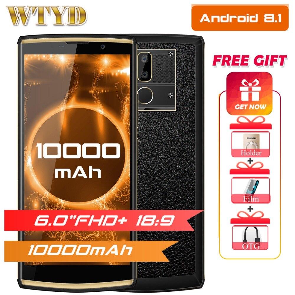 Oukitel K7 6 0 FHD 4GB RAM 64GB ROM smartphone android 8 1 MT6750T Octa Core