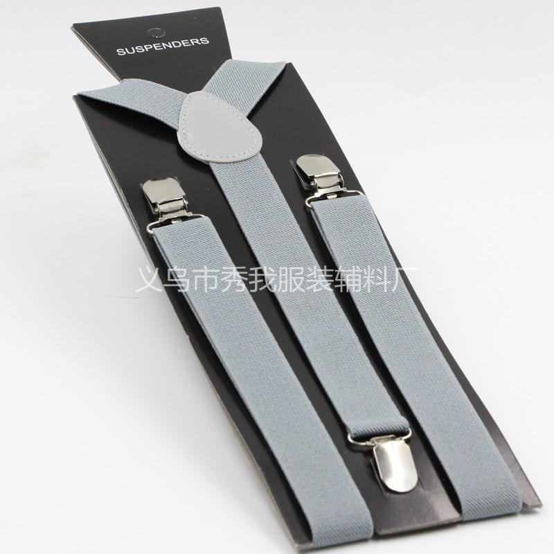 Mens Suspenders Women Braces Y back Suspender Adjustable Elastic Suspender for Wedding Party 400PCS