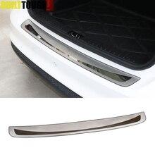 Hinten Stoßdämpfer schutz Deck Schritt Panel Boot Abdeckung Fit Für Toyota Corolla E170 2014 2015 2016 2017 Sill Platte Stamm trim Edelstahl