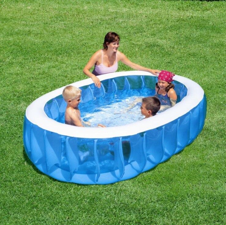 achetez en gros gonflable piscine ovale en ligne des. Black Bedroom Furniture Sets. Home Design Ideas