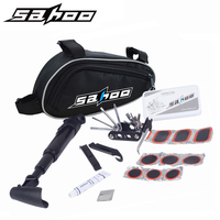 SAHOO Bicycle Repair Tools 14 In 1 MTB Road Folding Bike Tools Wrench Screw Downhill Fixed