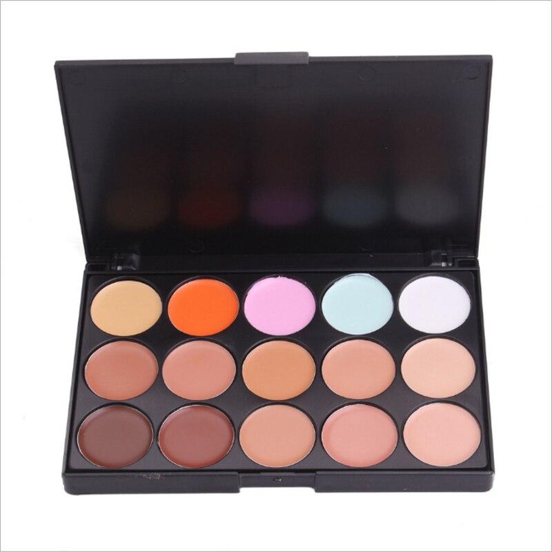 15 Colors Concealer Black Eye Acne Concealer Brighten Skin To Cover Wrinkles Repairing Foundation Pallete Makeup Beauty Make Up