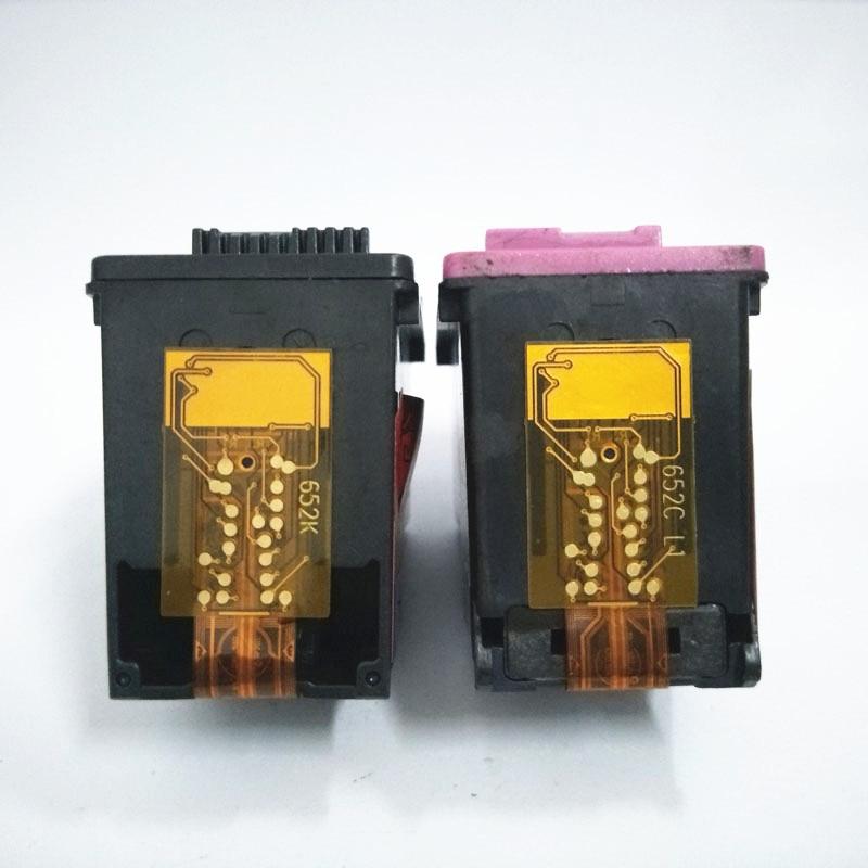 vilaxh 652 HP 652XL 652 xl Deskjet üstünlüyü üçün uyğun siyah - Ofis elektronikası - Fotoqrafiya 2