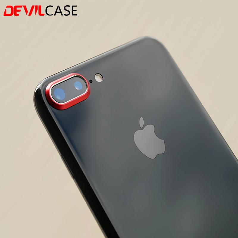 super popular db0b0 7a2ea US $6.9 |DEVILCASE For iPhone 7 Plus & 8 Plus Lens Protector Aluminum Alloy  Protective Ring CNC Cutout Rear Back Lens Circle-in Phone Screen ...