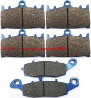 Motorcycle Semi Met Brake Pad Set Fit KAWASAKI VN1700 VN 1700 Vulcan Voyager 2009 Up
