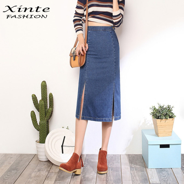 Aliexpress.com : Buy 2017 Women Spring Summer New Long Skirt Sexy ...