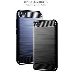 Image 4 - Funda de teléfono para Xiaomi Redmi Go silicona resistente armadura suave TPU cubierta Xiaomi Go Redmi Go Redmigo Xiomi fundas de carbono fundas Coque