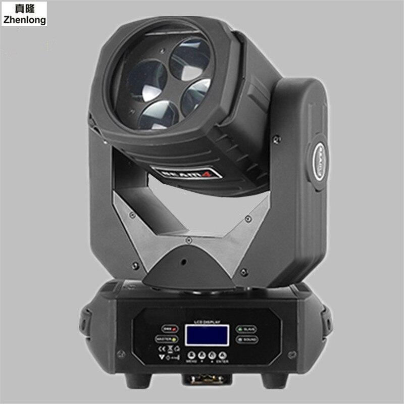 LED100W Super Beam Light Four-view Beam Lamp AC100-240V for Bar KTV Wedding Show Disco Club Stage Lights Atmosphere Decor Led