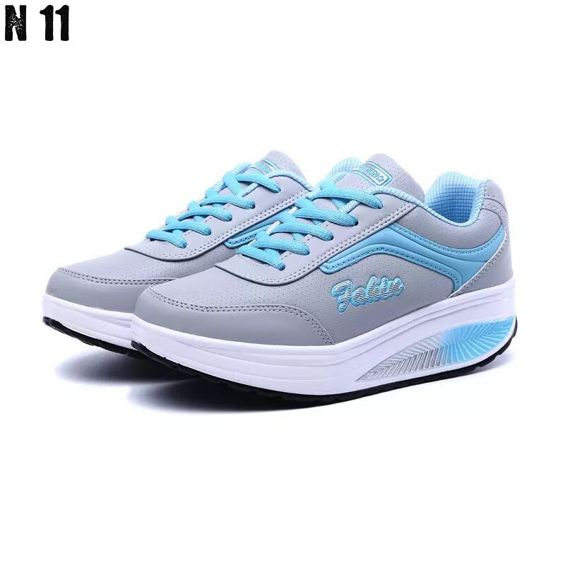 New 2017 Height Increasing Women Casual Shoes Zapatillas Body Shaping Fitness Shoes Fashion Swing Shoes For
