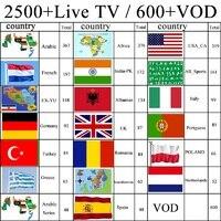 IPTV Франция без месячной платы Android Box английский арабский IPTV Бельгия голландский пожизненная Бесплатная медиа