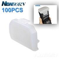 100 pièces Diffuseur Flash Rebond Softbox pour CANON 600EX-RT 600EX YONGNUO YN600EX-RT SHANNY SN600 Flash Speedlite