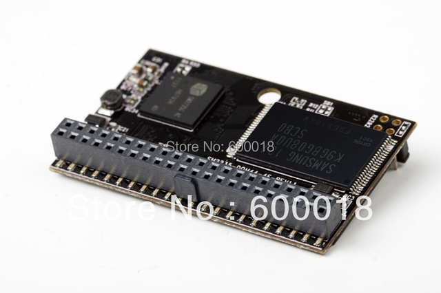 44PIN  PATA IDE DOM Disk On Module male Horizontal+Socket MLC 4-C DOM 4GB 8GB 16GB 32GB 64GB 128GB For CNC Industrial equipment