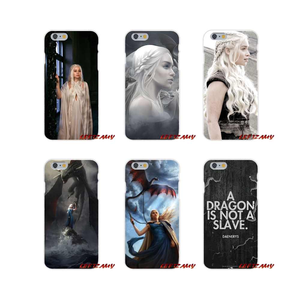 For Samsung Galaxy A3 A5 A7 J1 J2 J3 J5 J7 2015 2016 2017 Accessories Phone Cases Covers Daenerys Targaryen Game of Throne image