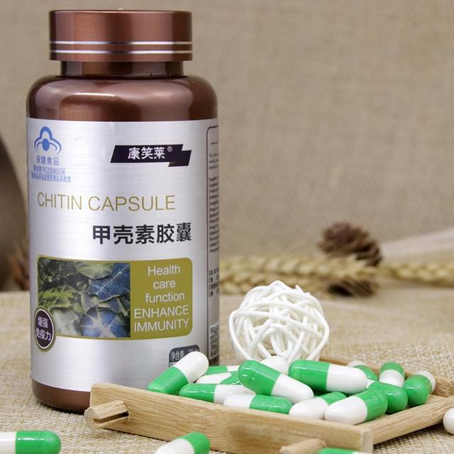 2 Bottles of Chitosan Capsules Enhance Immunity Fat Blocker Stops Absorption Body Sculpting and Fat Burning Waist Leg