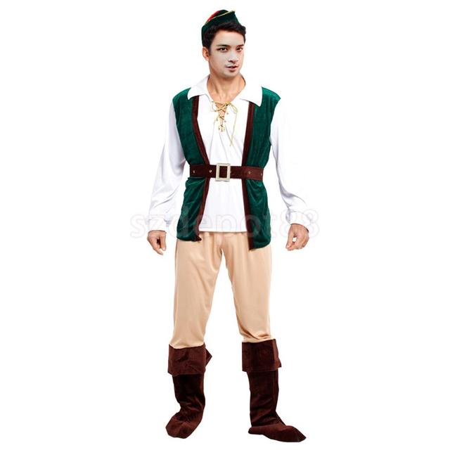 Forest Prince Hunter Costume Fancy Dress Halloween Cosplay Adult Mens Outfit  sc 1 st  AliExpress.com & Forest Prince Hunter Costume Fancy Dress Halloween Cosplay Adult ...