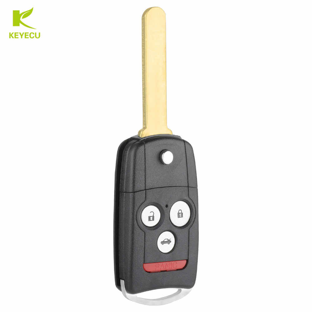 KEYECU New Replacement Remote Key Fob 4 Button 313.8MHz