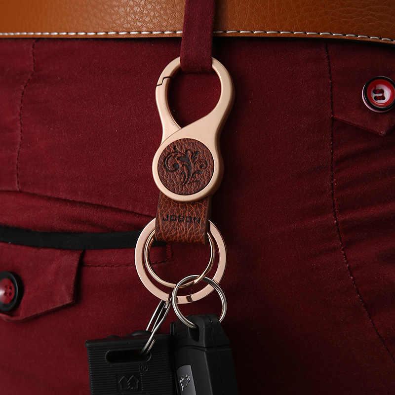 New Thương Hiệu Người Đàn Ông Phụ Nữ Móc Chìa Khóa Xe Hàng Đầu Eo treo Móc Chìa Khóa Xe Vòng Chìa Khóa Kim Loại Chất Lượng Cao Keychain K1159