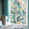 Window Paper Camellia Glass Paste Scrub Stickers Toilet Opaque Bathroom Cellophane Shading Windows Foil Window Film