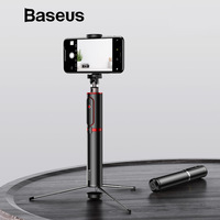 Baseus Bluetooth Selfie Stick Portable Handheld Smart Phone Camera Tripod With Wireless Remote For IPhone Samsung