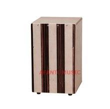 Afanti Music Rosewood / Birch Wood / Natural Cajon Drum (KHG-196)