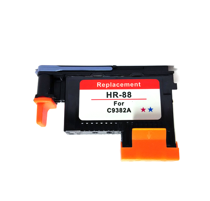 For HP 88 Print Head 1Magenta/Cyan C9382A Ink Cartridges for Printer L7590, K550, K8600, L7480, K5400 etc 3 printer cartridges xl for compatible hp 56