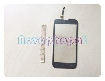 Novaphopat Noir Écran Tactile Pour Geotel G1 Étanche MTK6580A écran Tactile digitizer Capteur écran Pavé Tactile De Remplacement